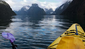 Things to do Milford Sound - Kayaking