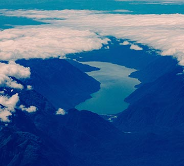 Milford Sound aerial view