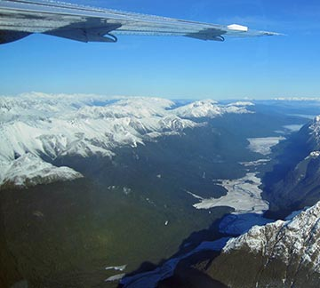 Milford Sounds scenic flights