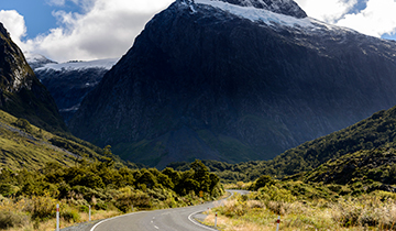 Drive to Milford Sound