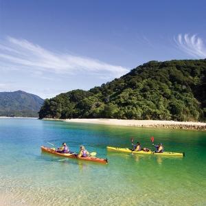 Abel Tasman Bay Kayaking