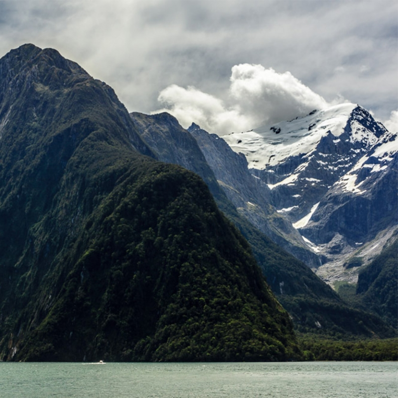 Milford Sound snow
