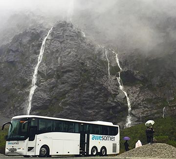 awesomeNZ Milford Sound coach tour