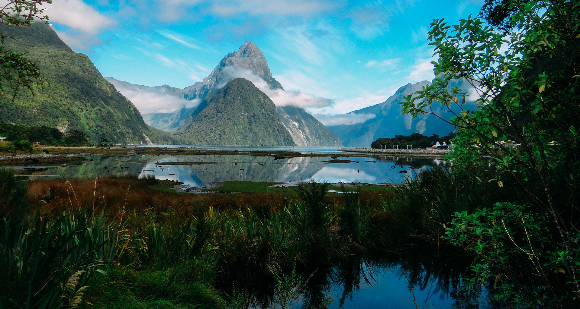 Milford Sound history, New Zealand