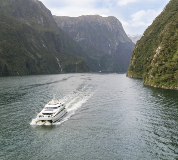 Milford Sound cruise