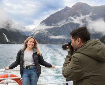 Visiting Milford Sound in autumn