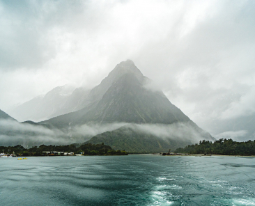 Visiting Milford Sound in Winter. Image by Tamasin Langton